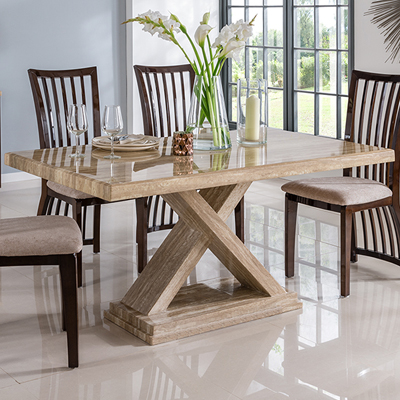 6b2e004011 Esta Marble 160cm Dining Table - Robson Furniture