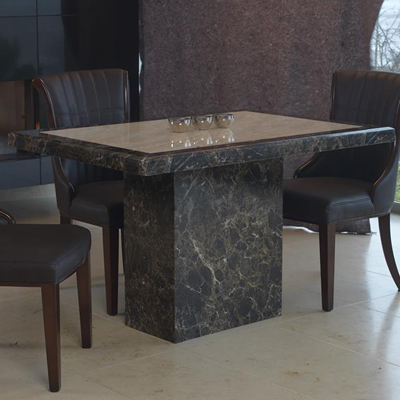Attrayant Ravena Small Marble Dining Table 21122
