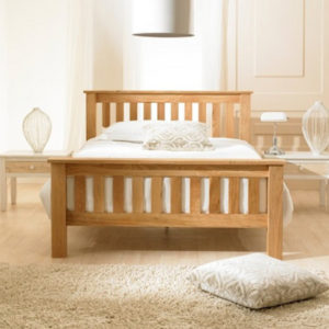 Solid Oak Double Beds