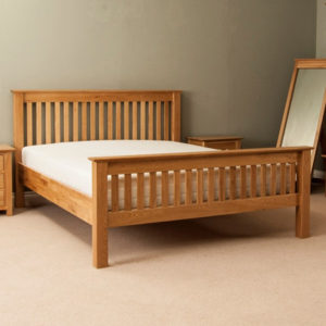 Solid Oak Kingsize Beds