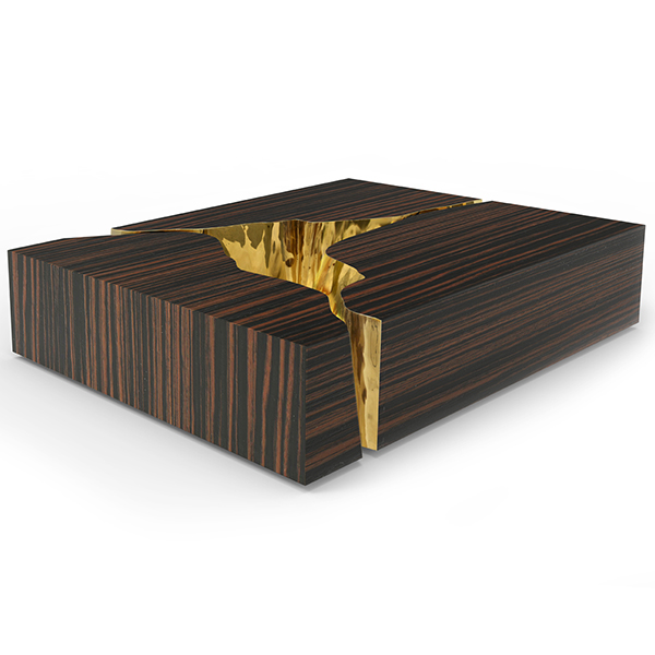 Lapiaz Black Luxury Coffee Table Robson Furniture