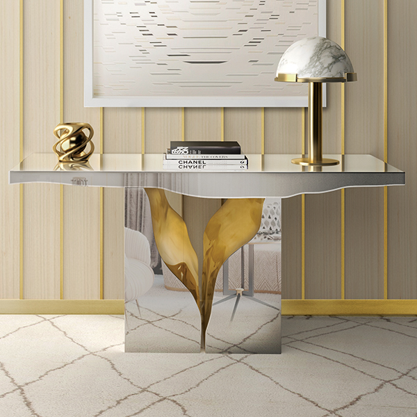 Lapiaz Luxury Console Table Robson Furniture