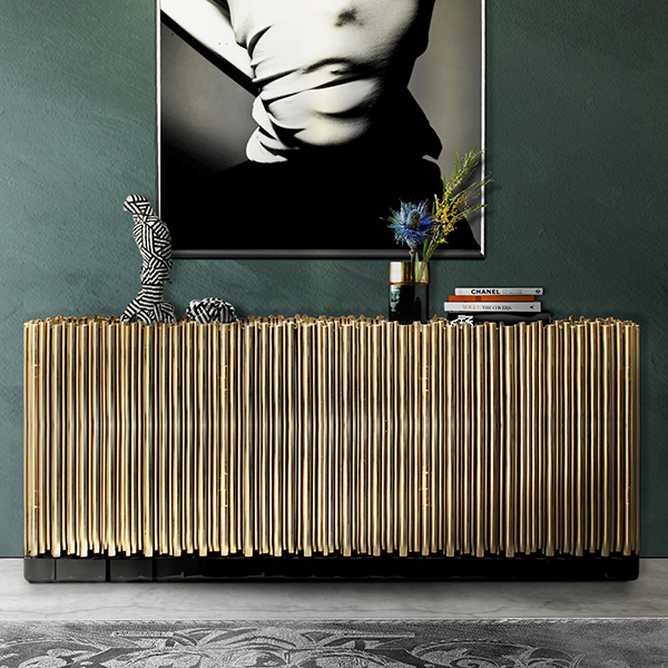Symphony Gold Sideboard Robson Furniture