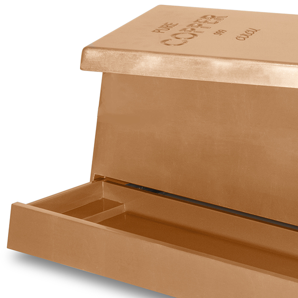 Keep Your Kids Bedroom Tidy With This Wonderful Luxury Toy Box: Copper Leaf Toy Box