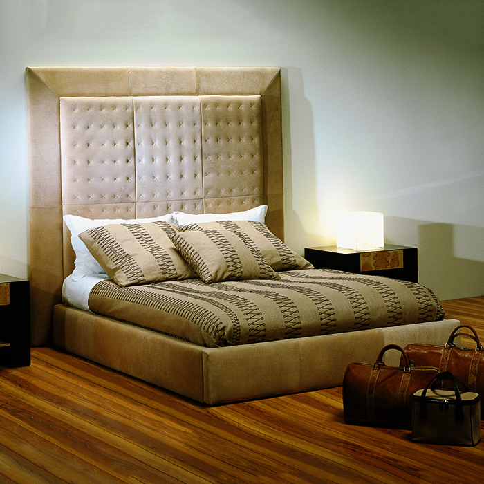 Torino Leather Super Kingsize Bed Robson Furniture