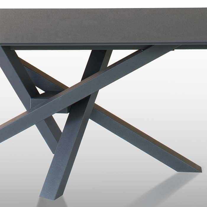 Singapore Designer Large Grey Glass Extending Dining Table  : D5D4774 Detail2 from www.robsonfurniture.co.uk size 700 x 700 jpeg 22kB