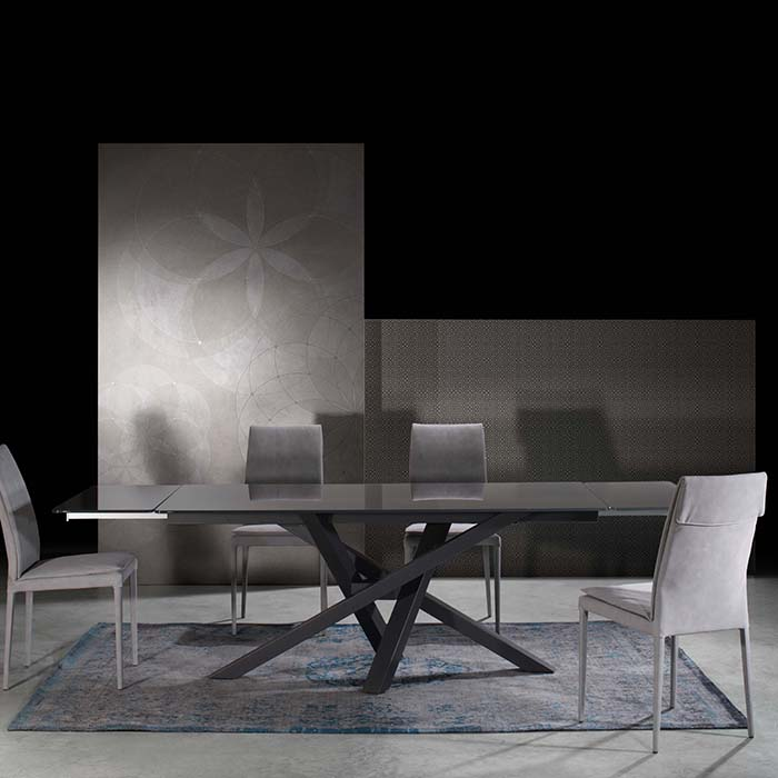 Singapore Designer Large Grey Glass Extending Dining Table  : D5D4843 from www.robsonfurniture.co.uk size 700 x 700 jpeg 37kB