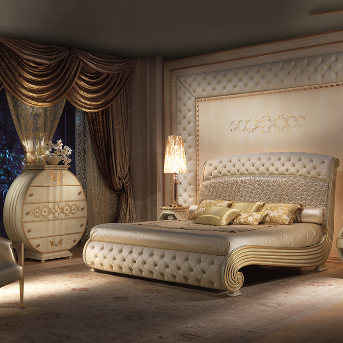 Majestic Luxury Gold Super Kingsize Bed Robson Furniture
