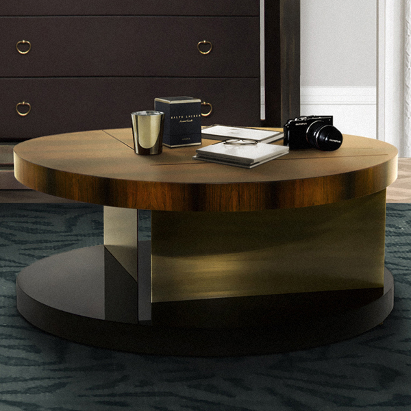 Lilian Luxury Round Coffee Table Robson Furniture